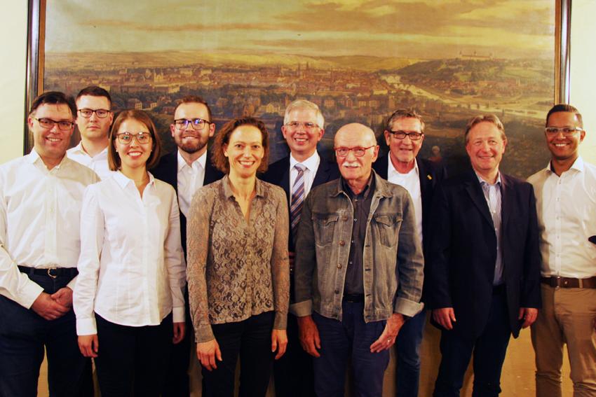 Vorstandsfoto von Mai 2018